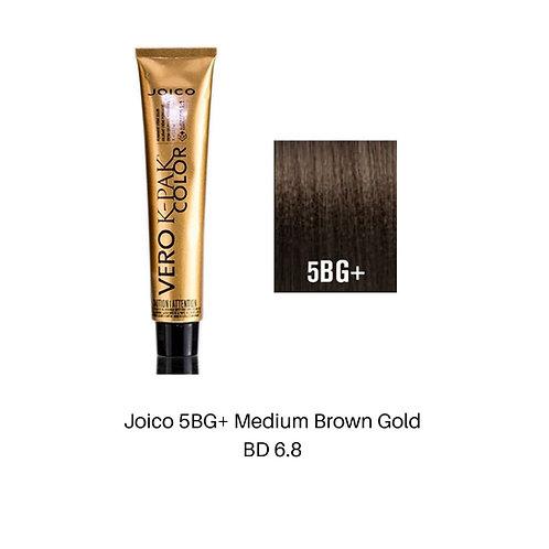 Joico 5BG+ Medium Brown Gold