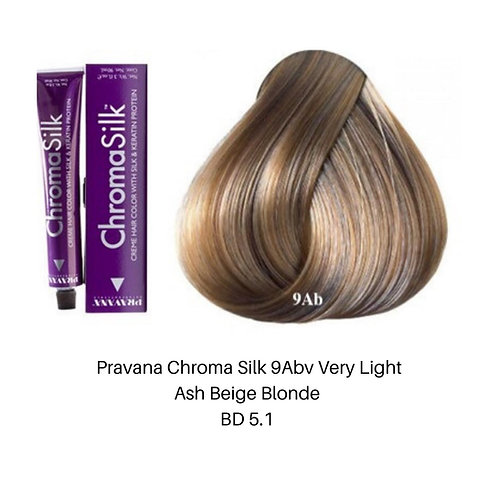 Pravana Chroma Silk 9Abv Very Light Ash Beige Blon