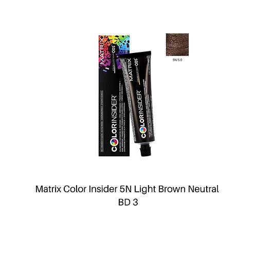 Matrix Color Insider 5N Light Brown Neutral