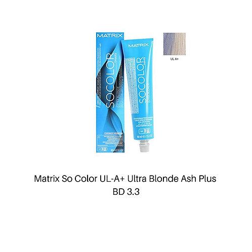 Matrix So Color UL-A+ Ultra Blonde Ash Plus