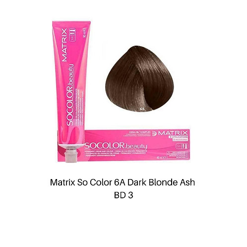 Matrix So Color 6A Dark Blonde Ash