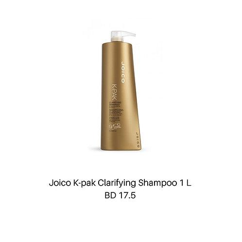 Joico K-pak Clarifying Shampoo 1 L