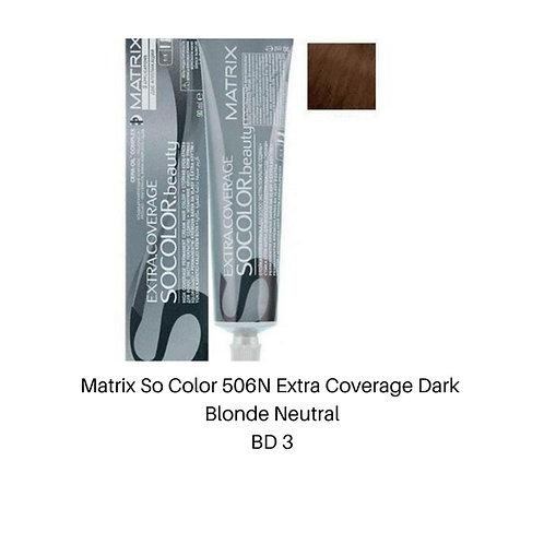 Matrix So Color 506N Extra Coverage Dark Blonde