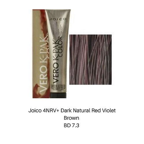 Joico 4NRV+ dark Natural Red Violet Brown
