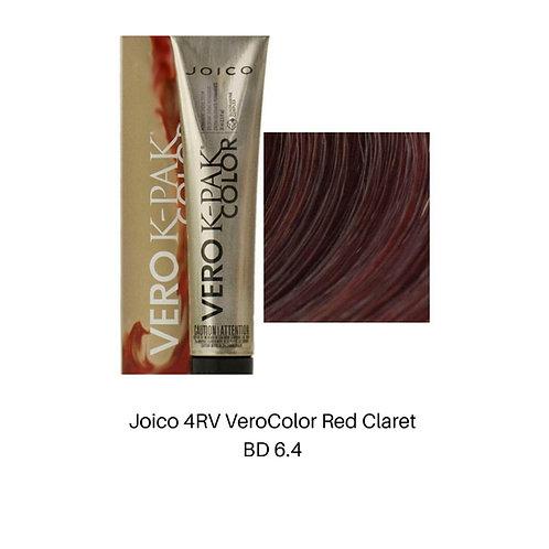 Joico 4RV VeroColor Red Claret