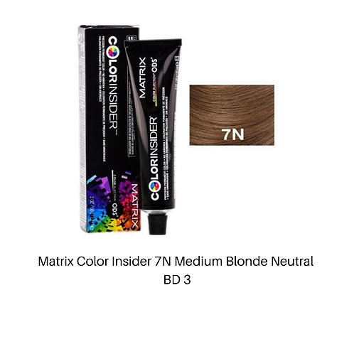 Matrix Color Insider 7N Medium Blonde Neutral
