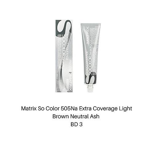 Matrix So Color 505Na Extra Coverage Light Brown