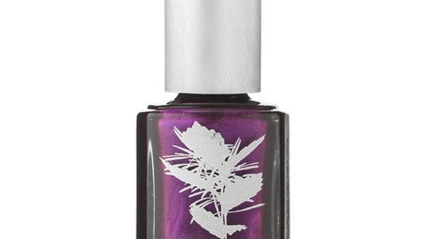 Priti Ruffle Velvet Iris