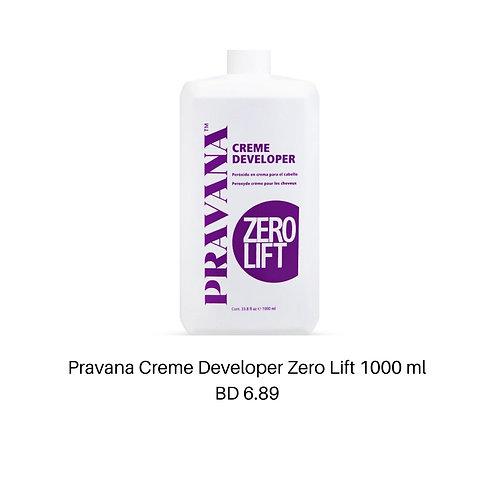 Pravana Creme Developer Zero Lift 1000ml