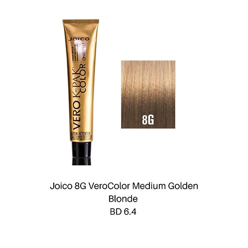 Joico 8G Vero Color Medium Golden Blonde