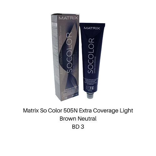 Matrix So Color 505N Extra Coverage Light Brown N