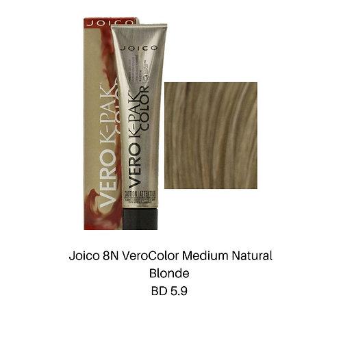 Joico 8N VeroColor Medium natural Blonde