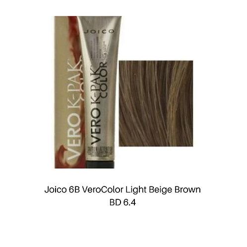 Joico 6B VeroColor Light Beige Brown