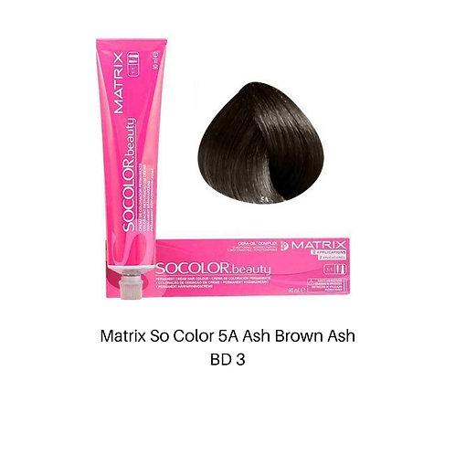 Matrix So Color 5A Light Brown Ash