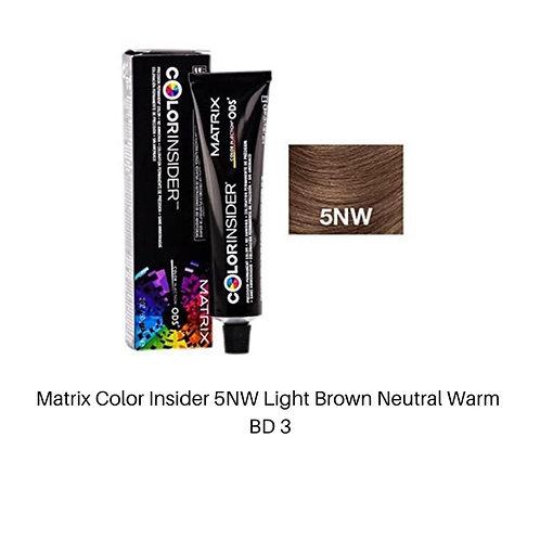 Matrix Color Insider 5NW Light Brown Neutral Warm