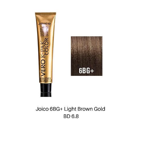 Joico 6BG+ Light Brown Gold