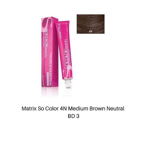 Matrix So Color 4N Medium Brown Neutral