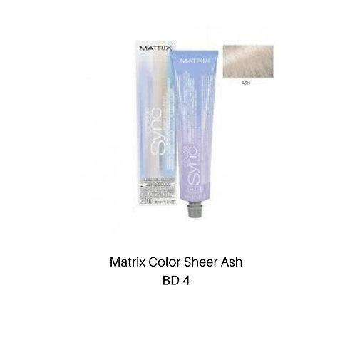 Matrix Color Sync Sheer Ash