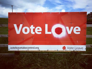 What's Love Got To Do With It? The Fallout - and Falling Out - of Brexit.