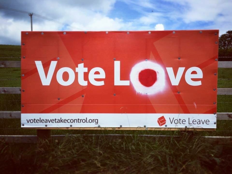 Vote Love not Leave