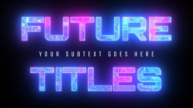 Futuristic Cyberpunk Titles