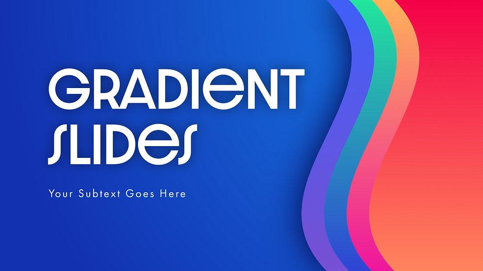Gradient Slides Overlay