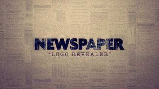 Newspaper Logo Revealer