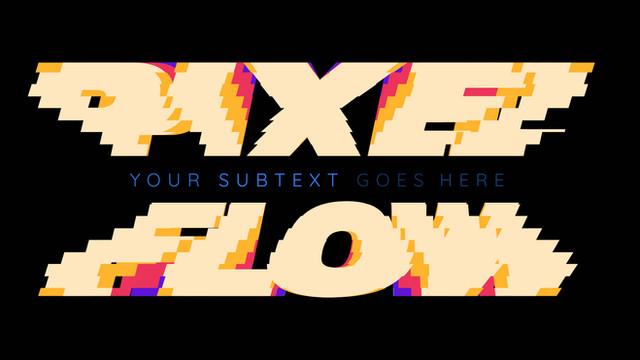Pixel Flow Titles
