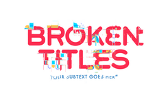 Broken Titles