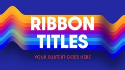 Ribbon Titles