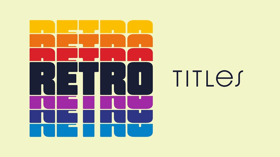 Broadcast Retro Titles