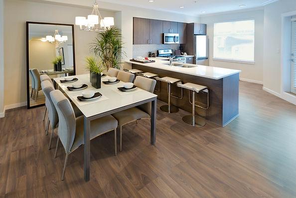 Natural Silk  Dark Oak laminate flooring