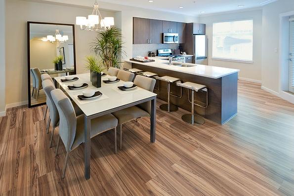 laminate floor Trend Structure Zebrano