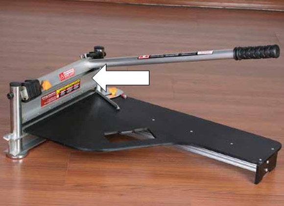 Professional laminate cutting guilotine