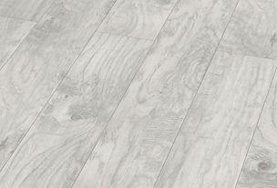 white laminate floor