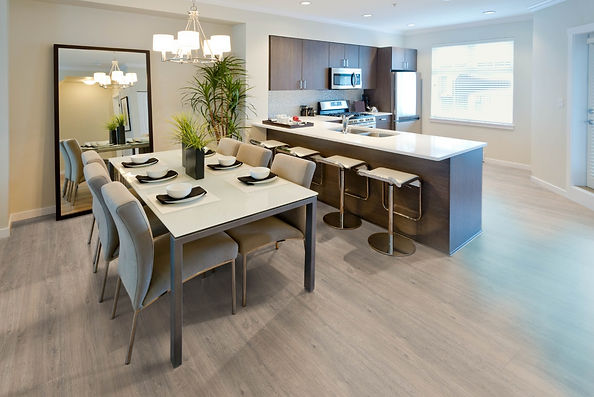 XXL Oak Grigio laminate floor boards