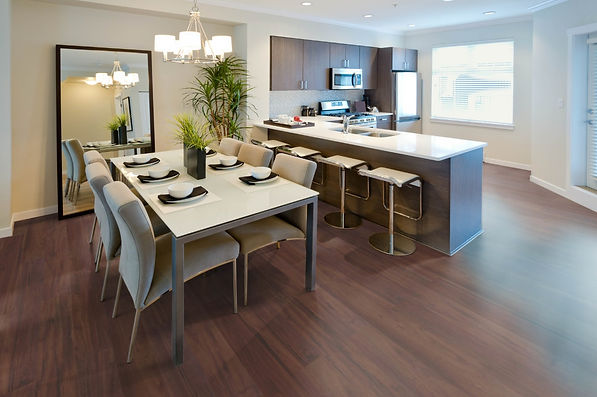 Laminate floor Trend Structure Lapacho chockolate