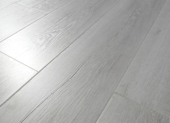 12 mm Polar White laminate flooring  $22-m2