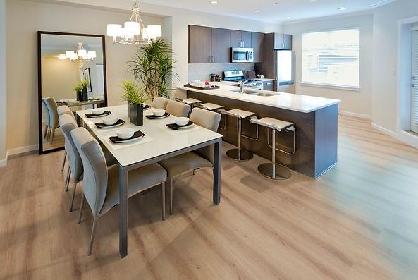 XXL Candy Brown laminate flooring