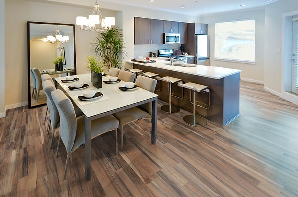Laminate floor Trend Structure Walnut 2 strip