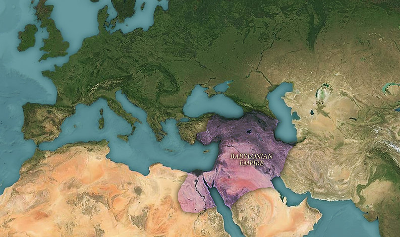 Babylonian Empire map