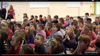 A clip of Kate from a K-2 Kindness Presentation.