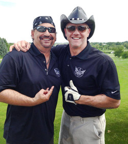 Mike and Jeff Golf