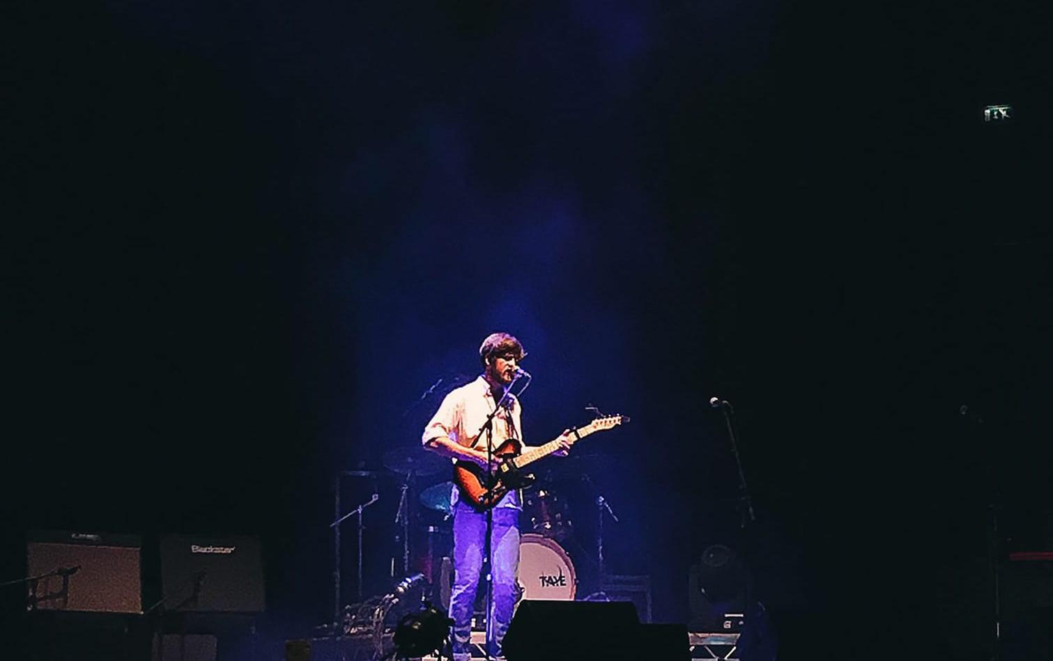 Playing solo @ Colston Hall, Bristol