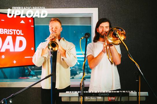 BBC Radio Bristol live session with Nicholson Heal