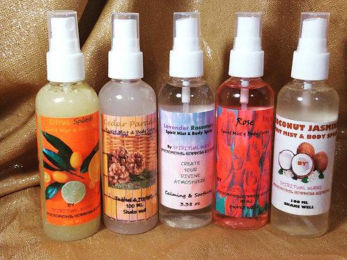 Spirit Mists & Body Sprays