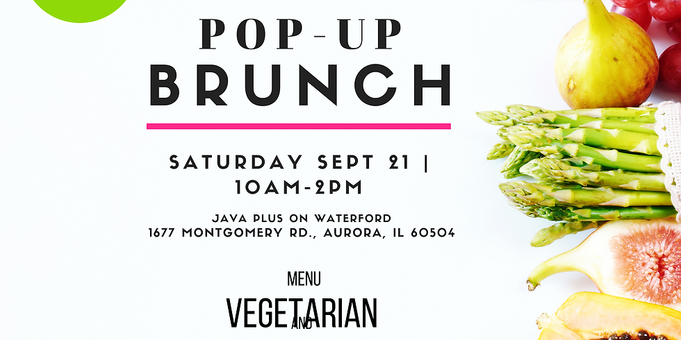 Sweet and Savory Pop-Up Brunch