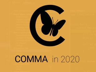 Comma: med 2020 i backspegeln
