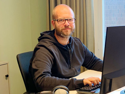 From chef to developer - Mattias made a career out of his second interest