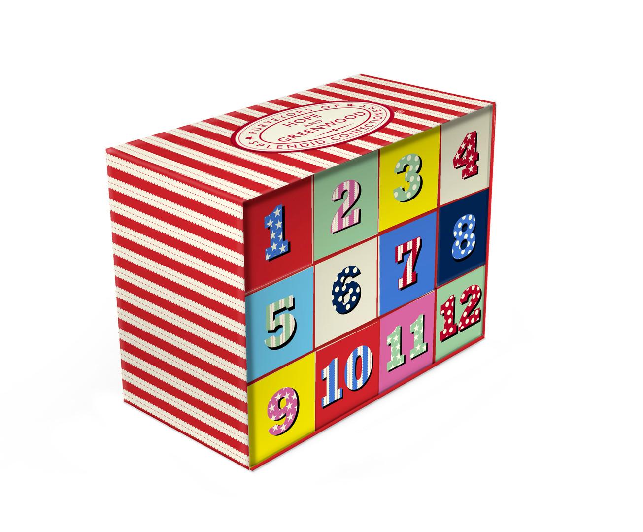 Advert calender gift box